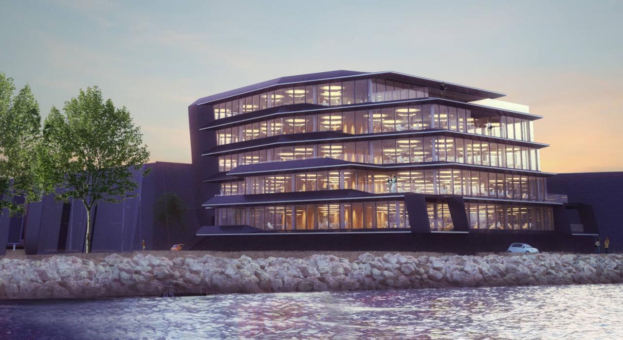 Harryvan Interieurbouw realiseert inrichting kantoorverdieping MVSA in de Flow Amsterdam