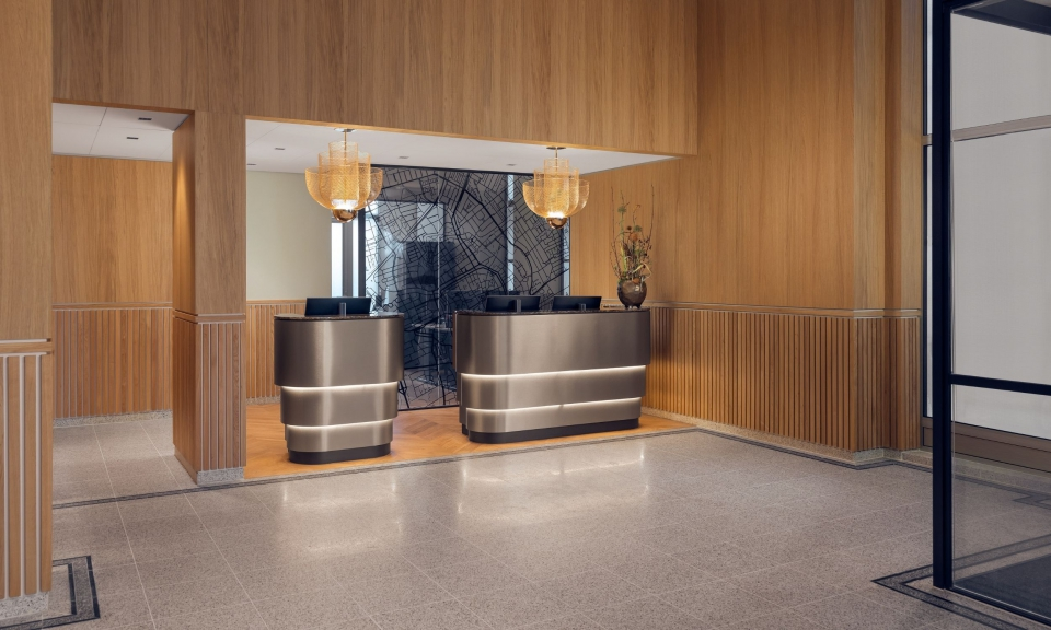 Hotelreceptie © The Market Hotel Sander Baks