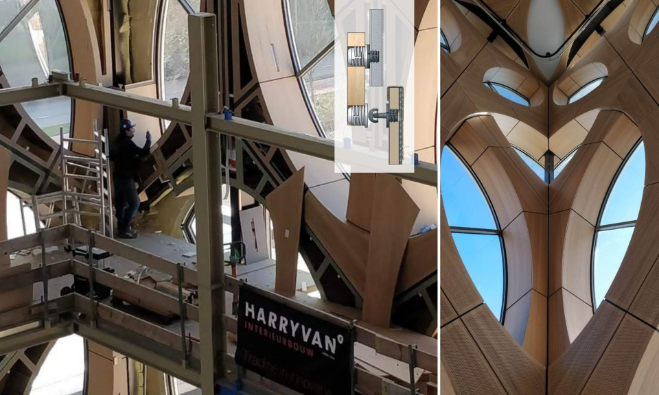Harryvan Interieurbouw | Toffe oplossingen - wandpanelenbevestiging