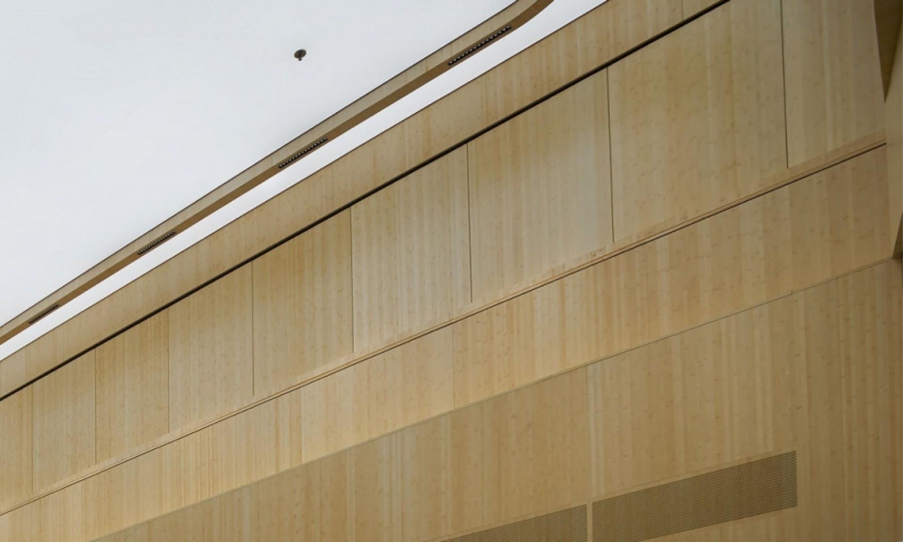 Harryvan Interieurbouw | panelen plafond en wandbekleding (Akzo Amsterdam)