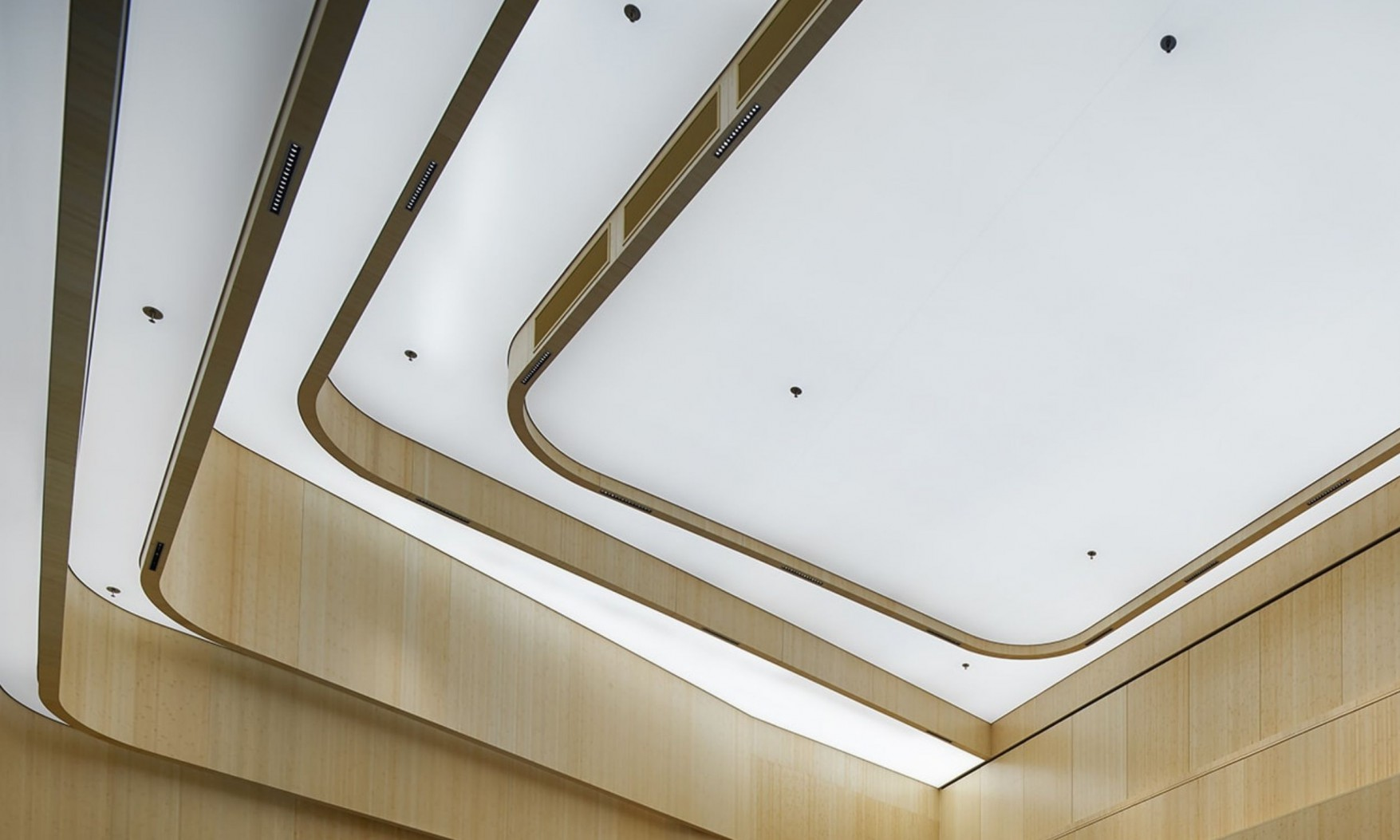 Harryvan Interieurbouw | specials plafond en wandbekleding (Akzo Amsterdam)