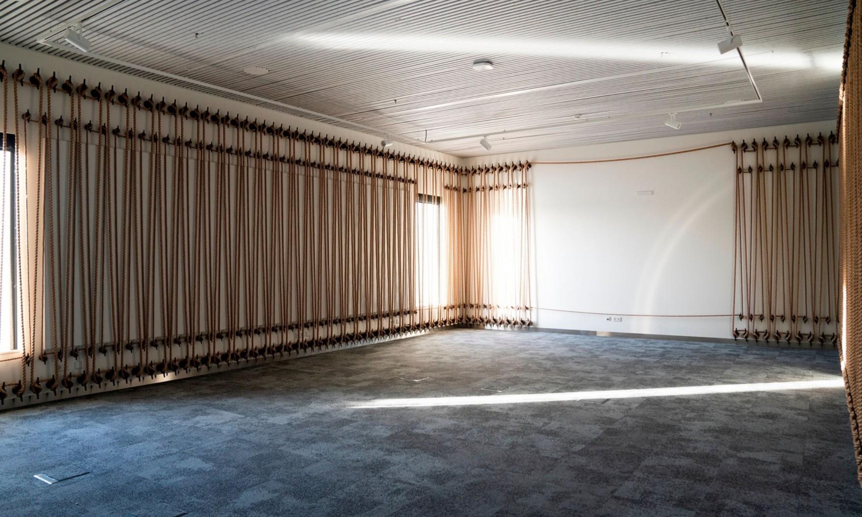 Harryvan Interieurbouw | specials plafond- en wandbekleding AHOY Rotterdam © Anja Tuinder - fotostudio Eye 4 You